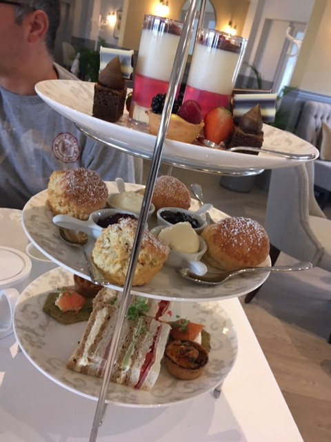 Afternoon Tea at the Laura Ashley Tea Room (High Bullen Hotel)